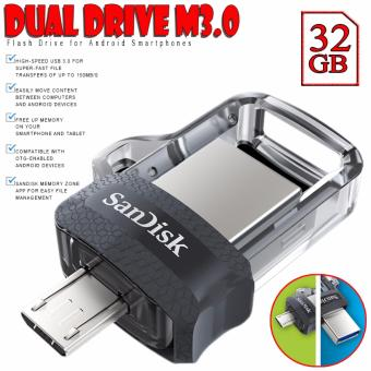 SanDisk 32GB OTG Ultra Dual USB Drive M3.0 Flash Drive for Android Smartphones
