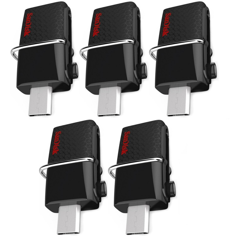 Philippines Sandisk Sddd2 016g G46 16gb Ultra Dual Usb Otg Flash Drive 16 Gb Set Of 5