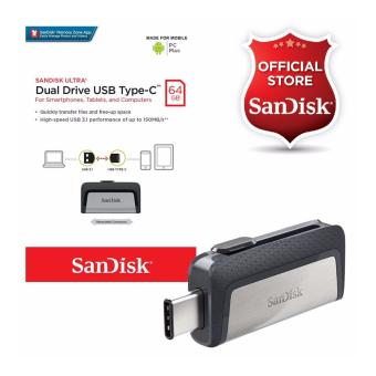 SanDisk Ultra SDDDC2-064G 64GB OTG / Dual Drive USB 3.1 Type-CReversible Connector