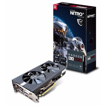 Sapphire Radeon NITRO+ RX 570 4GB GDDR5 DUAL HDMI / DVI-D / DUAL DP with backplate (UEFI) PCI-E Graphics Card