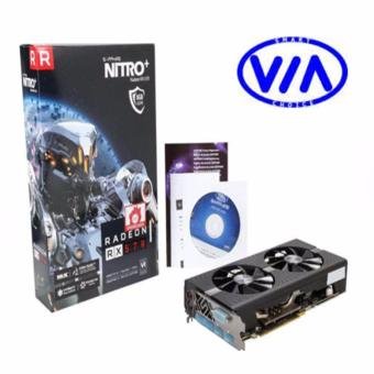 Sapphire Radeon NITRO+ RX 570 8GB GDDR5 DUAL HDMI / DVI-D / DUAL DP with backplate (UEFI) PCI-E Video/Graphics Card (SPR-11266-09-20G )