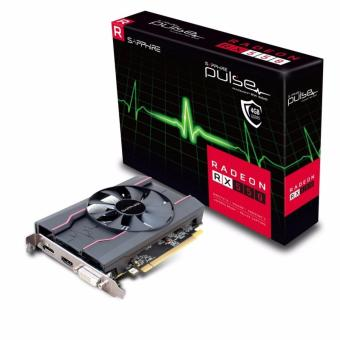 Sapphire Radeon PULSE RX 550 4GB GDDR5 HDMI / DVI-D / DP (UEFI)PCI-E Video/Graphics Card (SPR-11268-01-20G)