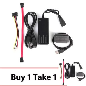 Sata 2.0 Usb 3.5 To Ide/Sata Hard Drive Converter Cable Us Standard(Black) Buy 1 Take 1 Price Philippines