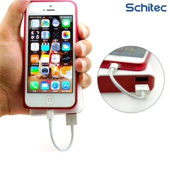 SCHITEC Lightning Cable Fast Charger Adapter Original USB Cable Foriphone 7 6s plus iphone 5s ipad mini Mobile Phone Cables for powerbank cable - intl Price Philippines
