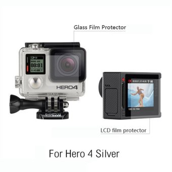 Screen Pro LCD Screen and Housing Lens Protector for Gopro Hero4Silver Edition - 3