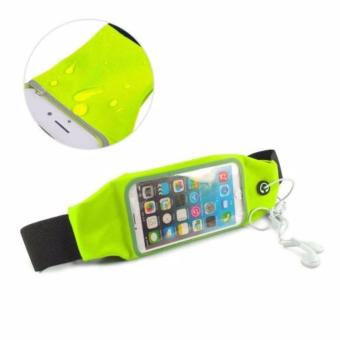 Screen Touch Waterproof Waist Bag Pouch Case for iPhone6Plus/6sPlus (Green) Price Philippines