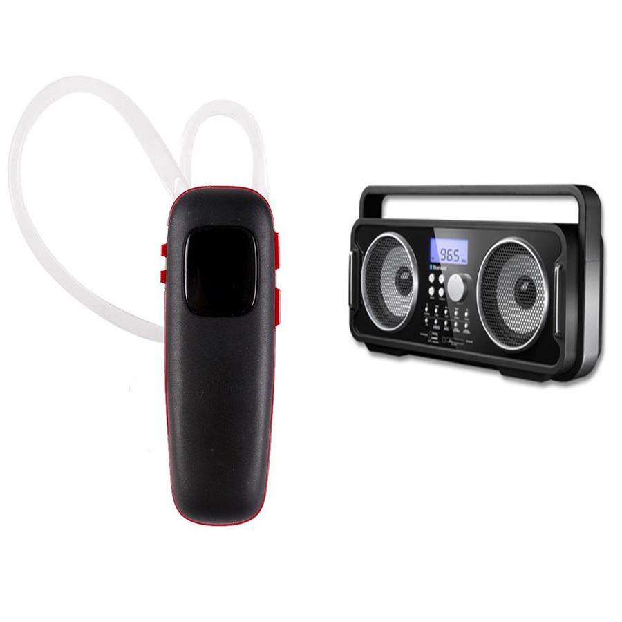 702abf29921 SDigital Icon Mini GB-3800 Portable Bluetooth Speaker with Plantronics M70  Bluetooth Headset - thumbnail ...