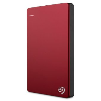 Seagate Backup Plus Slim 1TB Portable External Hard Drive USB 3.0(Red)