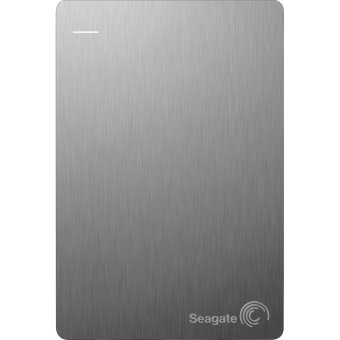 Seagate Slim Backup Plus STDR1000301 1TB Portable External Hard Drive (Silver)