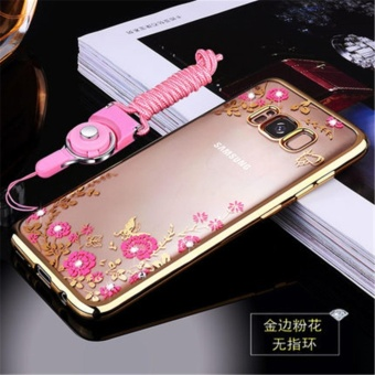 Secret Garden Plating TPU phone case For Samsung Galaxy S8 Plus(Gold) - intl