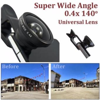 SELFIE CAM LENS removable wide angle lens (random color)