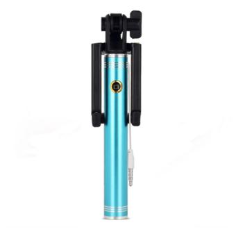 Selfie Mini Stick Monopod (Blue) Price Philippines