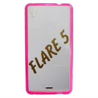 Senior TPU Jelly Case for Cherry Mobile Flare 5 (Pink)