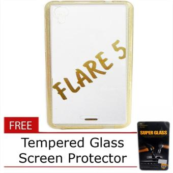 Senior TPU Jelly Case for Cherry Mobile Flare 5 with Free TemperedGlass