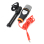 SF-666 Professional Condenser KTV Wired Microphone w/ Tripods Set (Black/Silver)