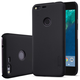 sfor google pixel XL case NILLKIN Frosted PC Plastic back coverwith Screen Protector For google pixel XL cover retail package(Black) - intl Price Philippines