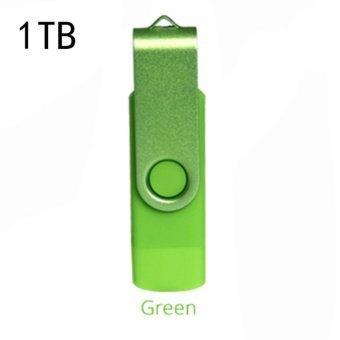SHINE 1TB Dual OTG USB 3.0 Phone Port U-Disk Pen Flash DriveMemoryStick for Mobile Phone (green) - intl - 3