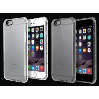 Shock Proof Silicon Case For iPhone 6G/6S (transparent) - 2