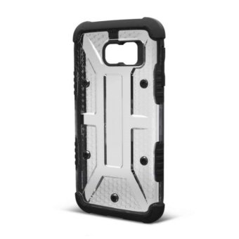 Shockproof Armor Case for Samsung Galaxy S6 (Crystal/Black) - picture 2