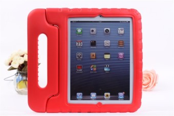 Shockproof EVA Foam Stand Case Cover for Samsung Galaxy Tab A 8.0 inch (Red)
