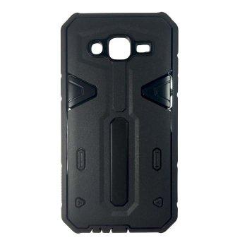 Shockproof Hybrid Case for Samsung Galaxy J7 (Black) - picture 2
