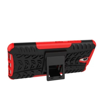 Shockproof Kickstand Case Cover for Lenovo Vibe S1 (Red) - 4