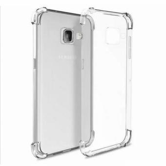 Shockproof TPU Case for Samsung Galaxy J7 Prime with Tempered Glass(Clear)