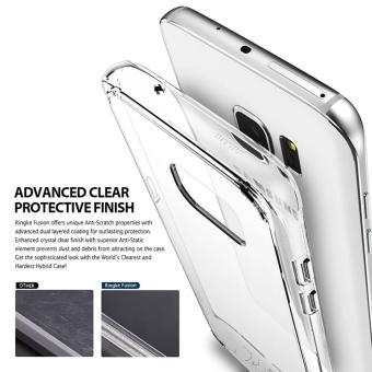 Shockproof TPU Case for Samsung Galaxy S7 Edge (Clear)