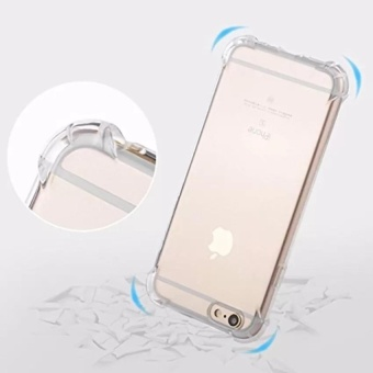 Shockproof-Ultra-thin-TPU-Case-Cover For Iphone 6 /6s (Clear)