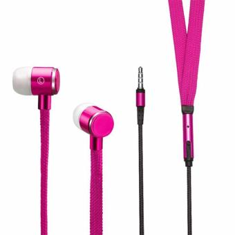Shoelace Design Earphone (Pink) Price Philippines
