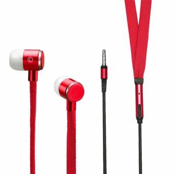 Shoelace Design Earphone (Red) Price Philippines