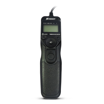 SHOOT RS-60E3 LCD Timer Shutter Release Remote Control for CanonEOS 650D/600D/550D/500D/1000D/450D/400D/350D/300D/100D/700D/60D(Rebel T4i, Rebel, Rebel XT, Rebel XTi, Rebel XSi, Rebel XS, RebelT1i, Rebel T2i, Rebel T3i) Price Philippines
