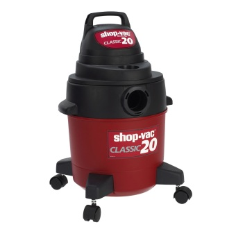 Shop-vac SV-401-01 Wet and Dry Vacuum Cleaner 20L (Red/Black)