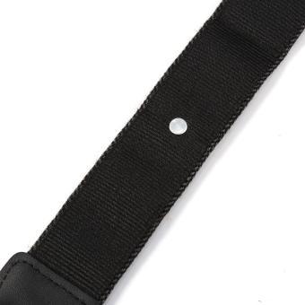 Shoulder Neck Strap For Nikon SLR Cameras (Charcoal Grey) - intl - 4