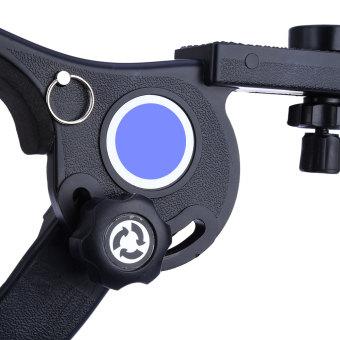 Shoulder Support Pad Stabilizer For Camcorder DSLR Camera DV (Black) - 3