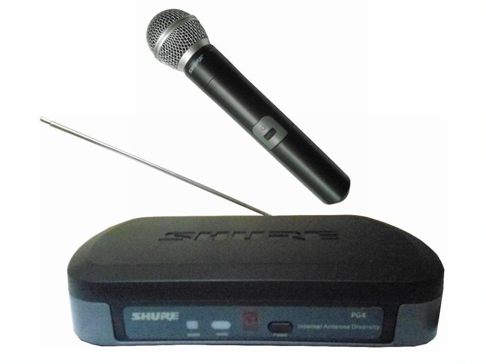 Philippines Shure Pg4 Beta 58a Wireless Microphone System Black