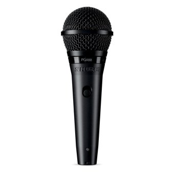 Shure PGA58-XLR Cardioid Dynamic Vocal Microphone with 15' XLR-XLRCable