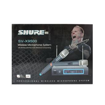 Shure SVX-9500 2 Channel Professional Wireless Microphone System(Black)