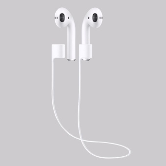 Silicone Ear Loop Strap Anti Lost String Rope Cord for Apple AirPods - intl - 4