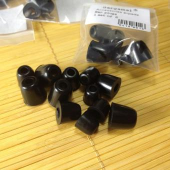Silicone Ear Tips In Ear Earphone Memory Foam Eartips 3 Pairs S M LBlack - intl Price Philippines