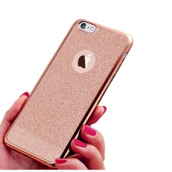 iphone 5s gold case. silicone glitters case for apple iphone 5 / 5s se (rose gold) iphone 5s gold