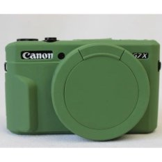 Silicone Rubber Camera Case Bag Cover For Canon Powershot G7X Mark2 G7X II G7X2 G7XII Camera
