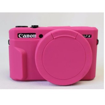Silicone Rubber Camera Case Bag Cover For Canon Powershot G7X Mark2 G7X II G7X2 G7XII Camera - intl
