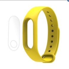 Silicone Strap Band Wrisband For Xiaomi Band 2 Mi Band 2 WristbandsScrewless Silicone Bracelet For Xiaomi