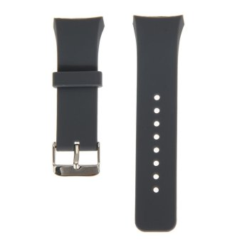 Silicone Watch Band Strap For Samsung Galaxy Gear S2 SM-R720(Grey)- intl