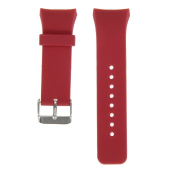 Silicone Watch Band Strap For Samsung Galaxy Gear S2 SM-R720(Red)(Intl)