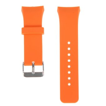Silicone Watch Band Strap For Samsung Galaxy Gear S2SM-R720(Orange)