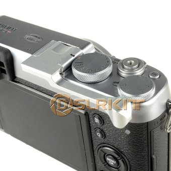 Silver Thumb Up Grip for Fujifilm X-100T X-M1 X-30 X-A2 X-A1 - intl