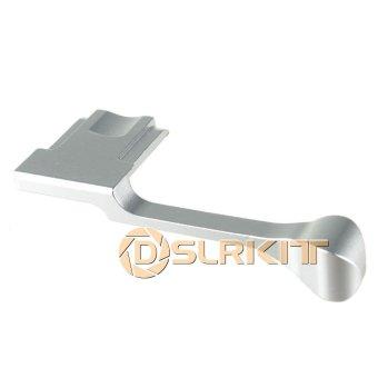 Silver Thumb Up Grip for Fujifilm X-100T X-M1 X-30 X-A2 X-A1 - intl - 4