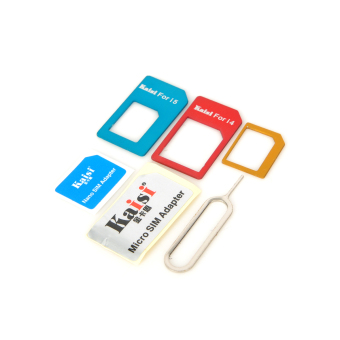 SIM Adapter With Eject Tool For iPhone 4 4S 5 - picture 2